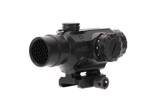 Primary Arms 1x Prism Scope equipped with our Anti-Reflection Device