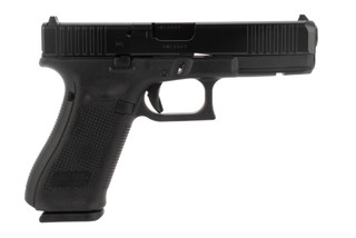 Glock 22 40 S&W pistol features a 4.5 inch barrel