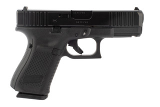 Glock 23 Gen5 40 S&W pistol features front and rear slide serrations