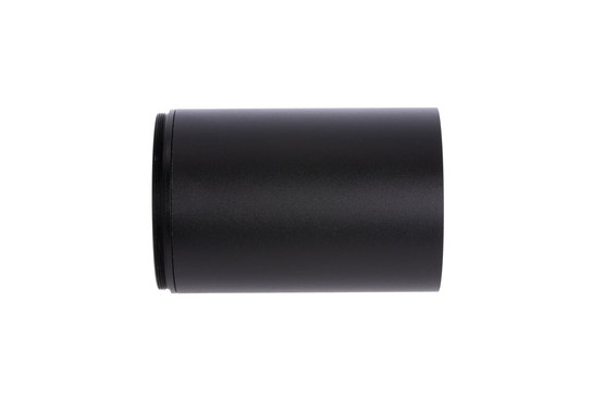 The Primary Arms Sun Shade for 3-18x50mm DMR Scope prevents glare from excess sunlight