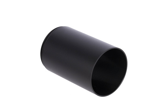 The Primary Arms Sun Shade for 3-18x50mm DMR Scope is made from aluminum and hard coat anodized black