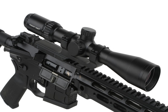 The Primary Arms classic series rifle scope with duplex reticle is perfect for AR-15s or .22 rifles alike
