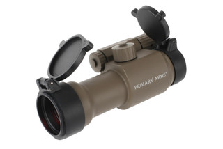 The red dot ar sight from primary arms has a 30mm tube diameter