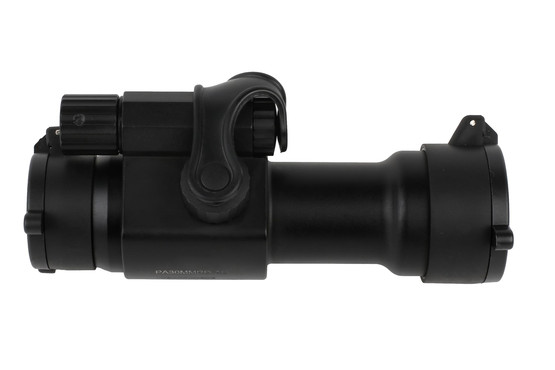The Primary Arms 30mm AR-15 red dot sight features 10 brightness settings