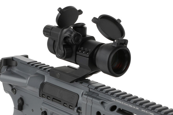 The Primary Arms AR red dot sight is compatible with 30mm scope rings