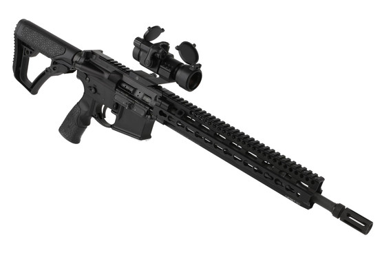 The Primary Arms AR15 red dot optic is lightweight and durable