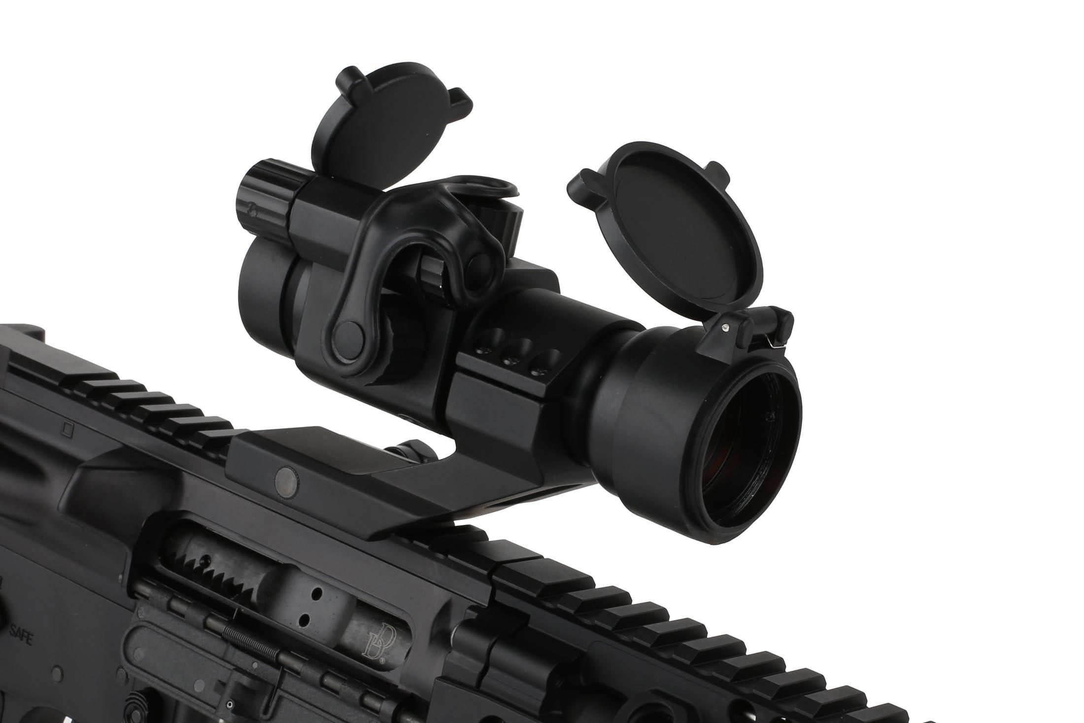 The Primary Arms AR 15 2 moa red dot sight comes with a limited lifetime warranty