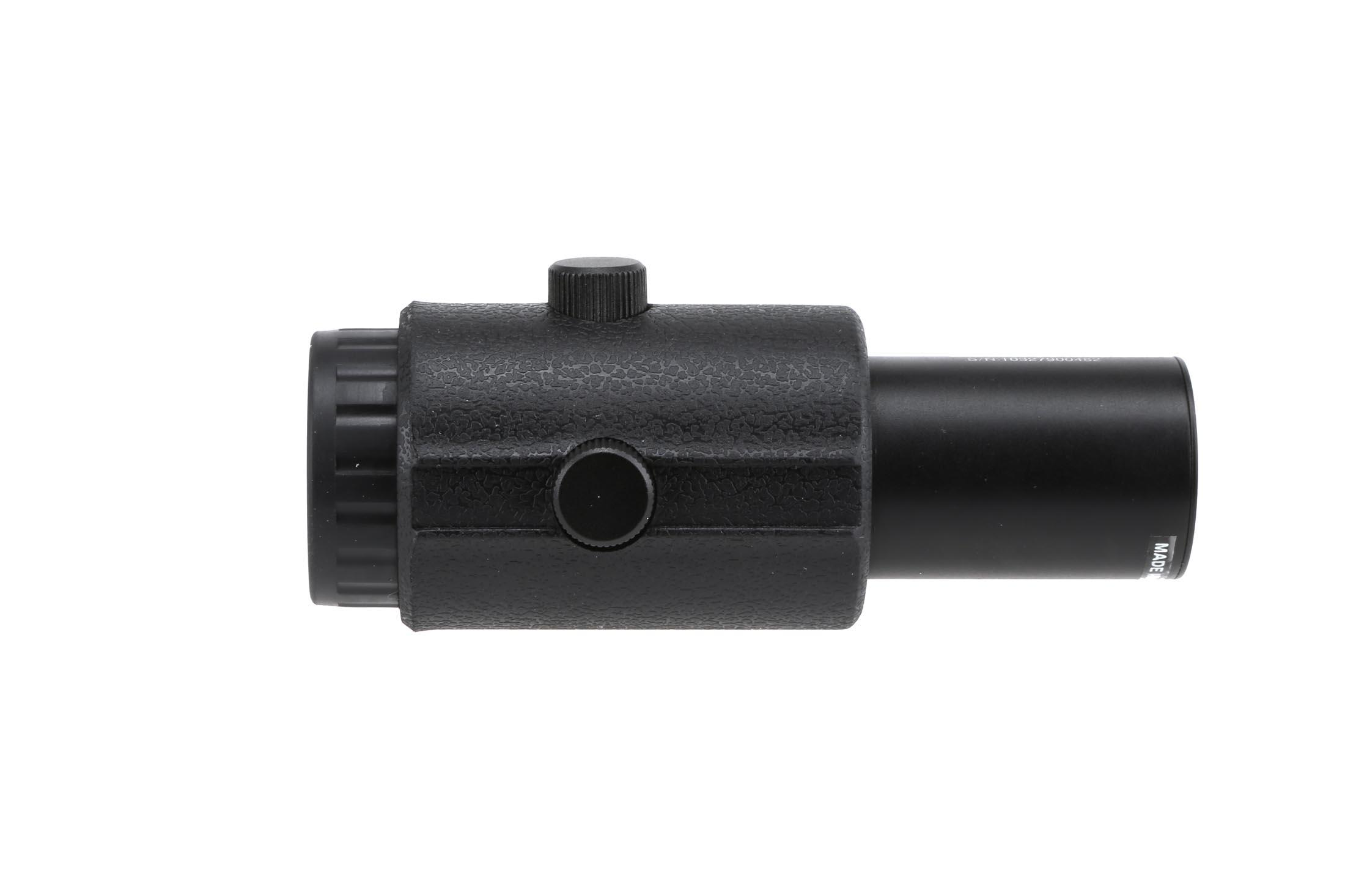 The Primary Arms Gen 4 Red Dot Magnifier LER features a fast focus eye piece