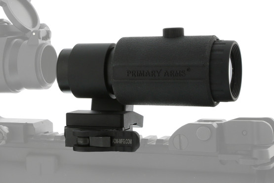 The Primary Arms 3x red dot magnifier gen IV comes with a 1 year warranty