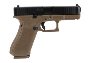Glock 45 Gen5 9mm Pistol has front serrations
