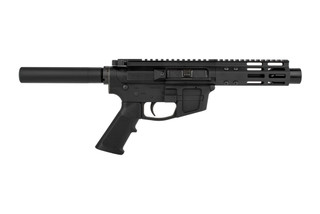 The Foxtrot Mike Products FM9 9mm AR pistol is glock compatible and built exclusively for primary arms