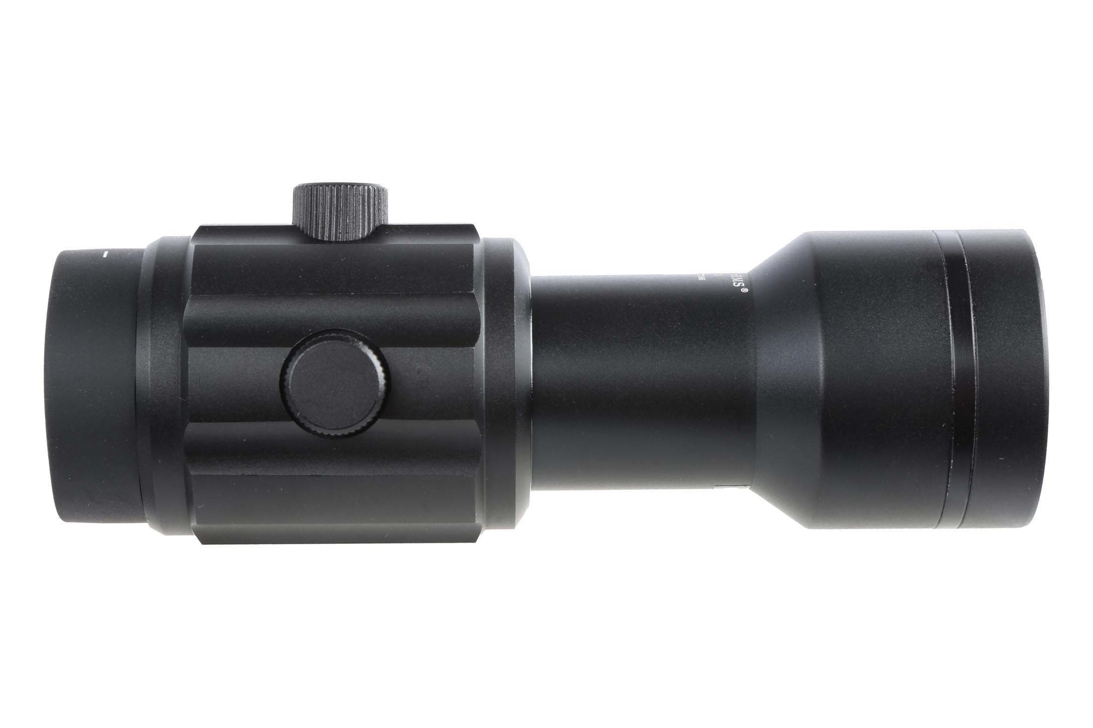 The Primary Arms 6x red dot magnifier features elevation and Azimuth adjustments