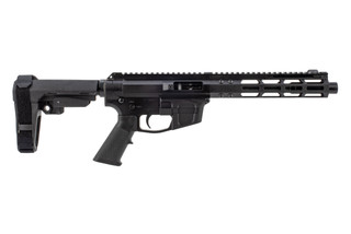 Foxtrot Mike Products 7in Glock-style side charging 9mm AR pistol is a primary arms exclusive equipped with SBA3 arm brace