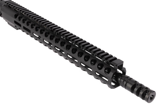 Radical Firearms 16in Barreled 7.62x39mm AR-15 upper receiver with effective 3 port Zero Impulse muzzle brake