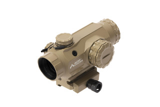 Primary Arms 1x Compact Prism Scope FDE is compatible with optional killflash