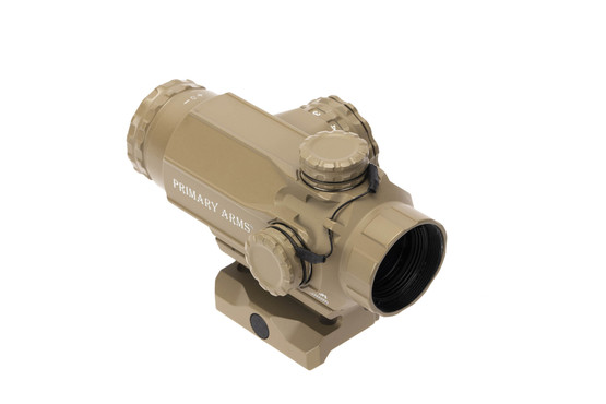 Primary Arms 1x Compact Prism Scope with ACSS Cyclops reticle and FDE ceramic top coat