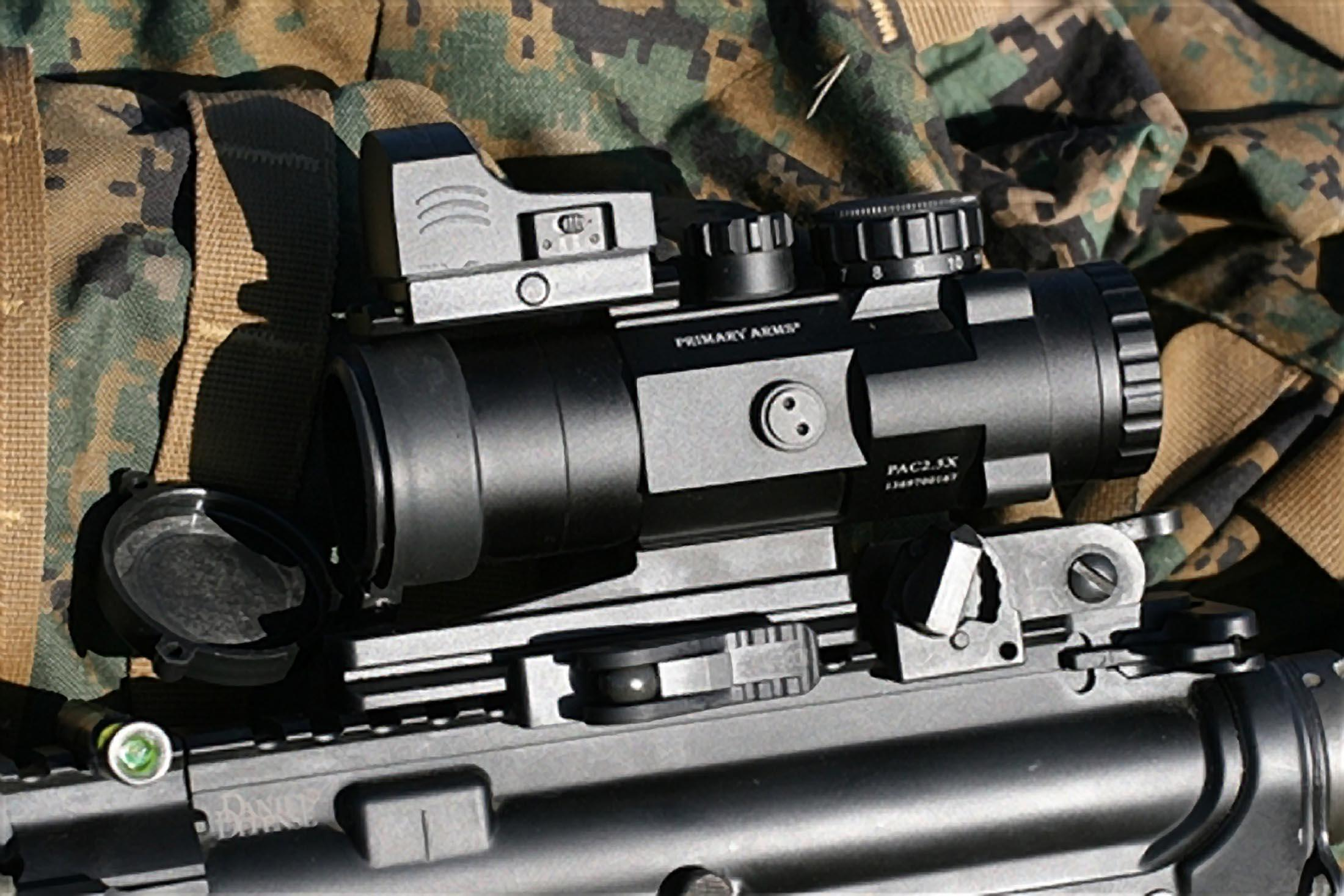 Primary Arms SLx 2.5 Compact 2.5x32 Prism Scope - ACSS-CQB-M1