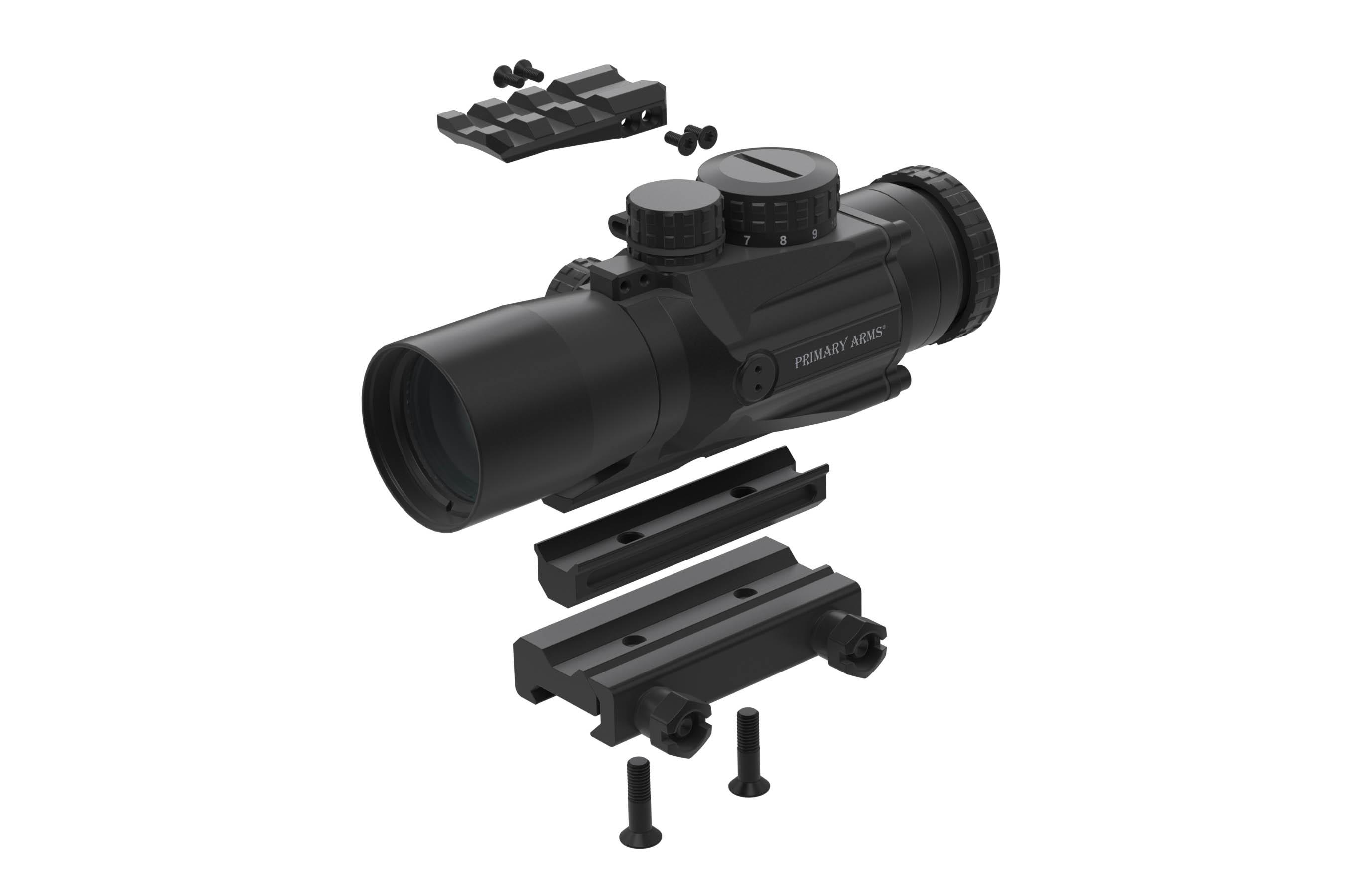 Primary Arms Silver Series Compact 3x32 Gen II Prism Scope - ACSS-5.56-CQB-M2