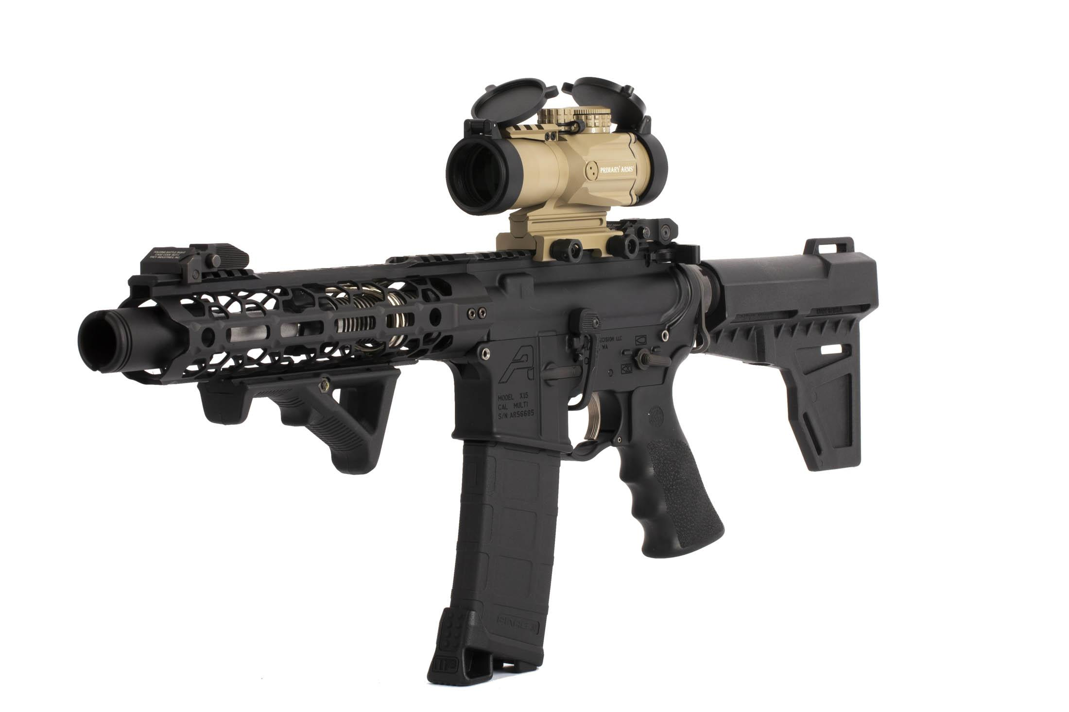 Primary Arms 3X Compact Prism Scope with ACSS CQB 7.62x39 / 300 Reticle without spacer is perfect for AK-47 / AK-74 rifles