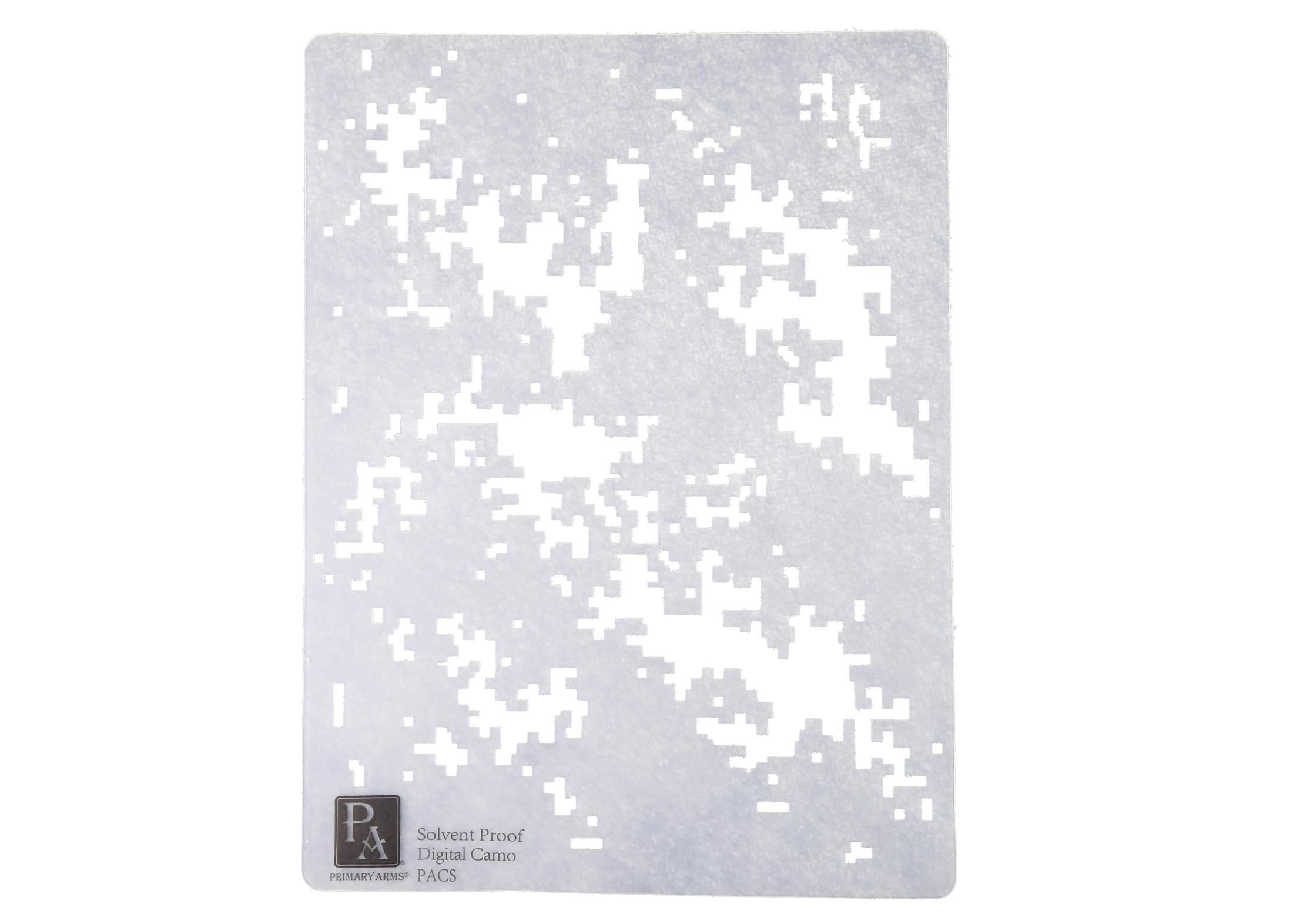 primary arms digital camouflage stencil pacs