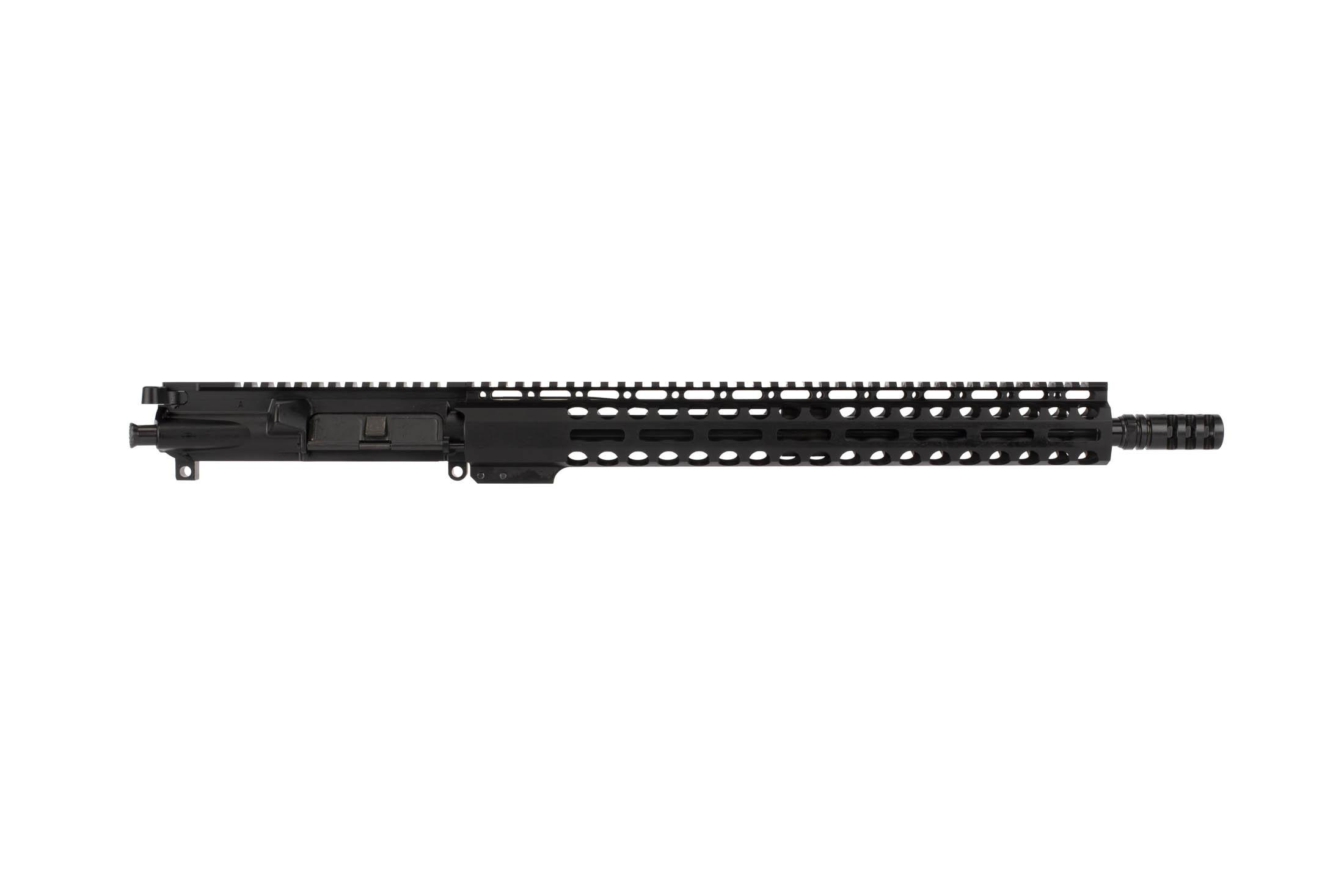 Exclusive 15in M-LOK handguard on Radical Firearms 16in 7.62x39mm complete AR-15 upper with carbine gas system