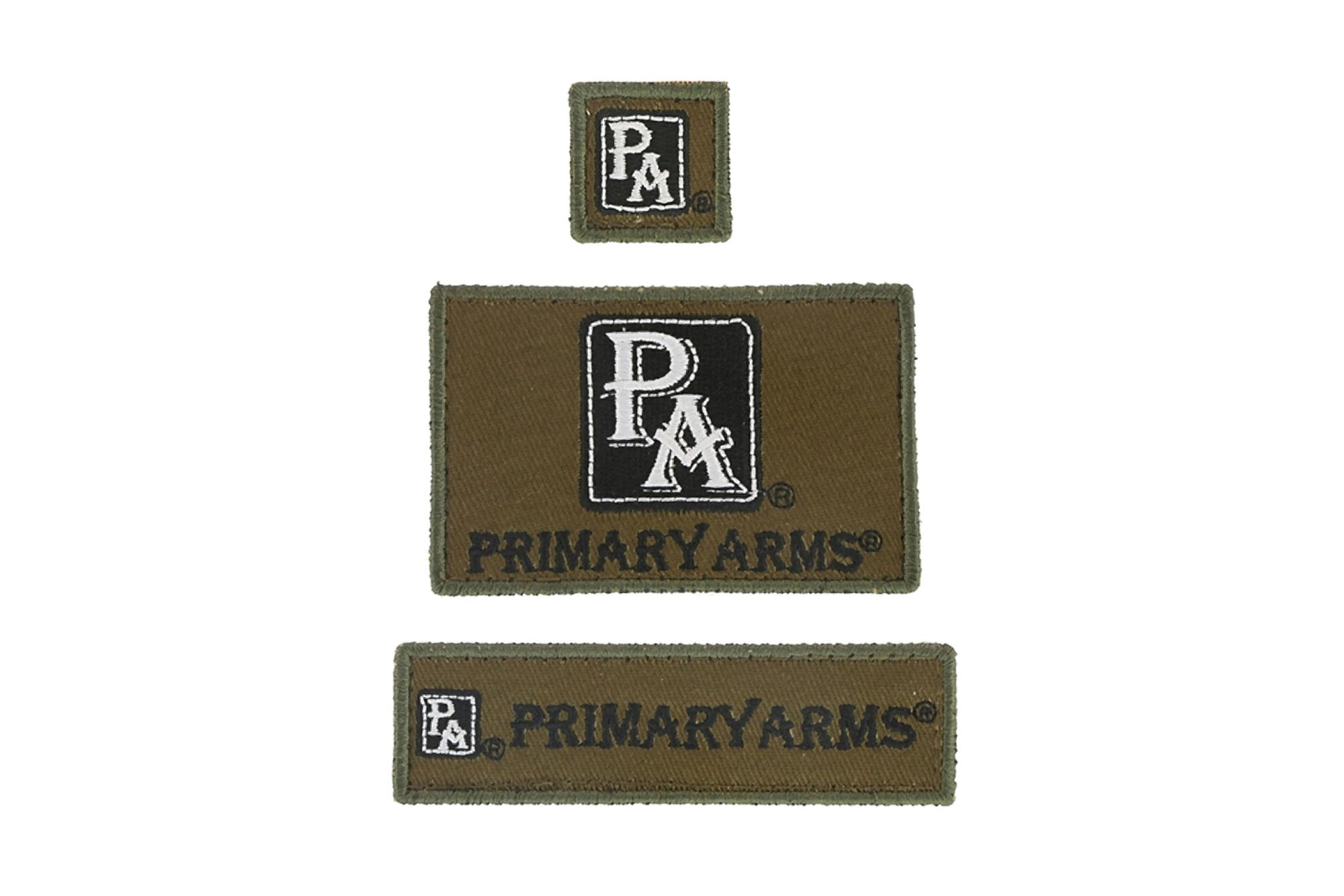 Primary Arms Reversible Morale Patch Panel w/3 Pack Primary Arms Patch Set