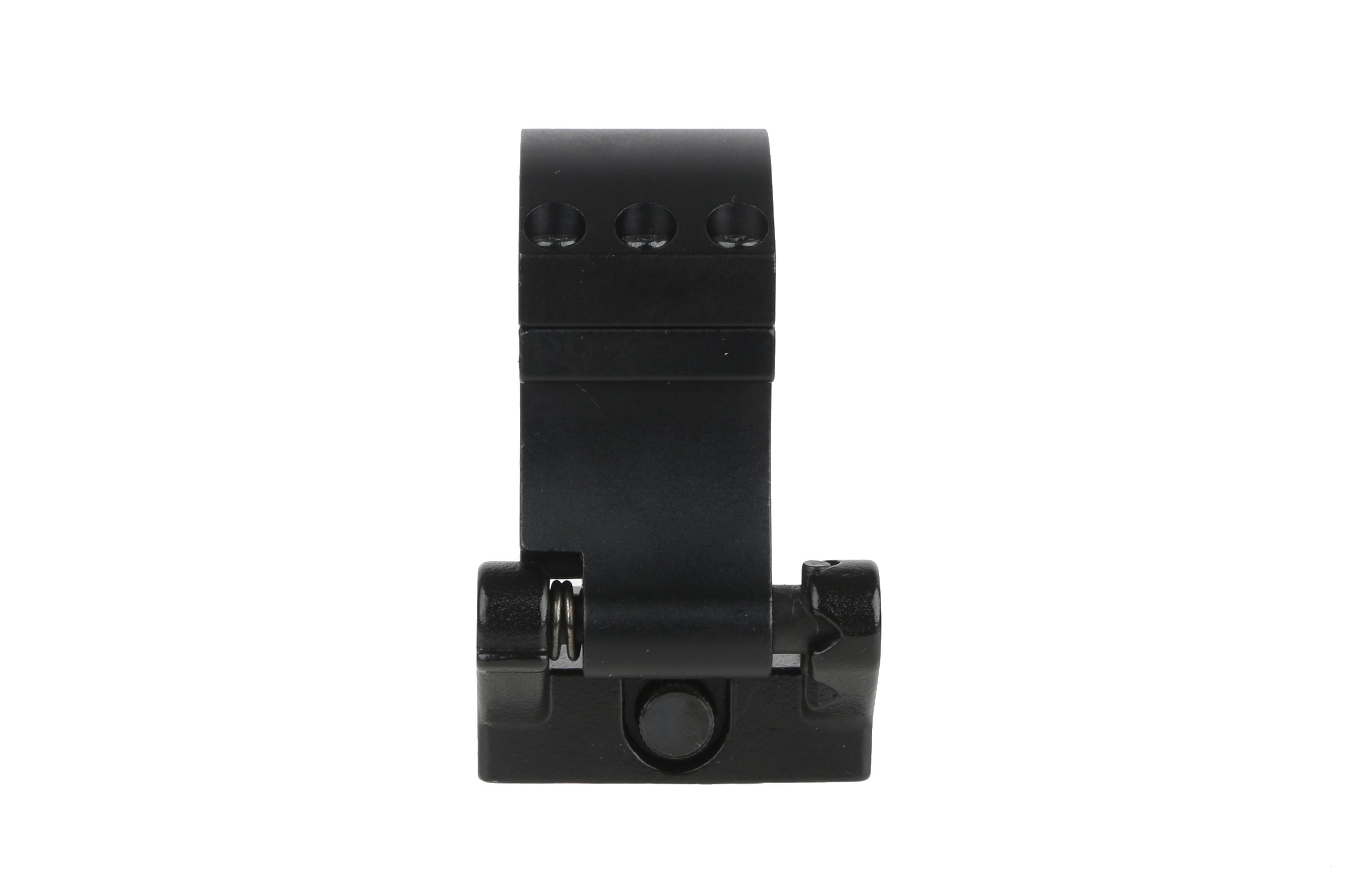 The Primary Arms 30mm flip 2 side mount features a black anodized finish