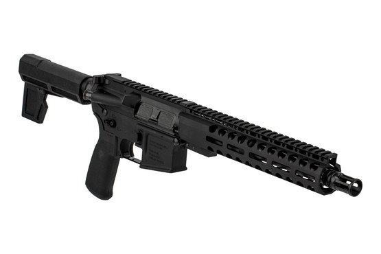 The Radical Firearms .300 Blackout AR Pistol features an extended billet magazine release