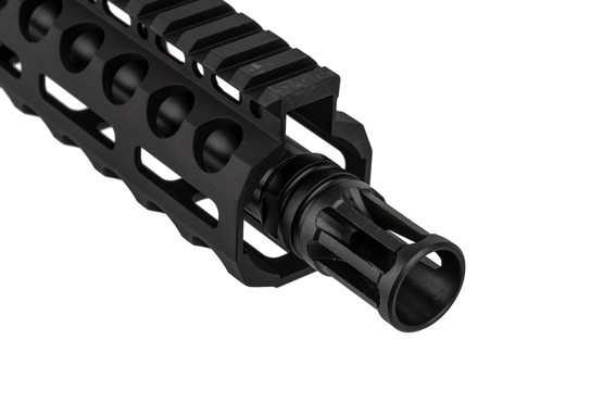 The Radical Firearms 300 BLK AR Pistol features an A2 flash hider