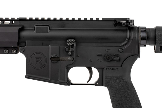 The Radical Firearms .300 BLK AR15 pistol features an extended bolt release