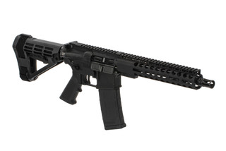 The Radical Firearms 5.56 Pistol 10.5 inch barrel features the SBA4 arm brace
