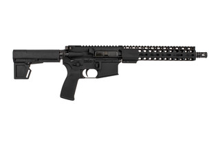 "Radical Firearms 10.5"" Primary Arms exclusive 5.56 NATO AR-15 pistol with M4 contour barrel, 10"" M-LOK rail, and Shockwave 2M brace."