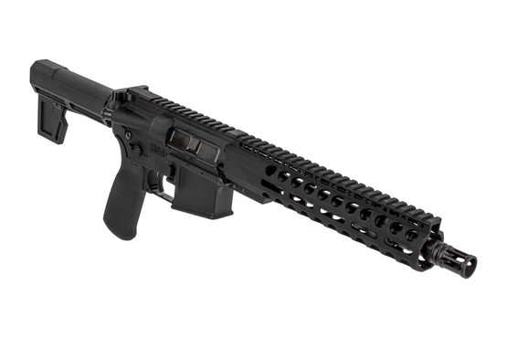 "Radical Firearms 10.5"" 5.56 NATO AR-15 pistol with M4 contour barrel and 2M brace with PA exclusive 10"" M-LOK rail"