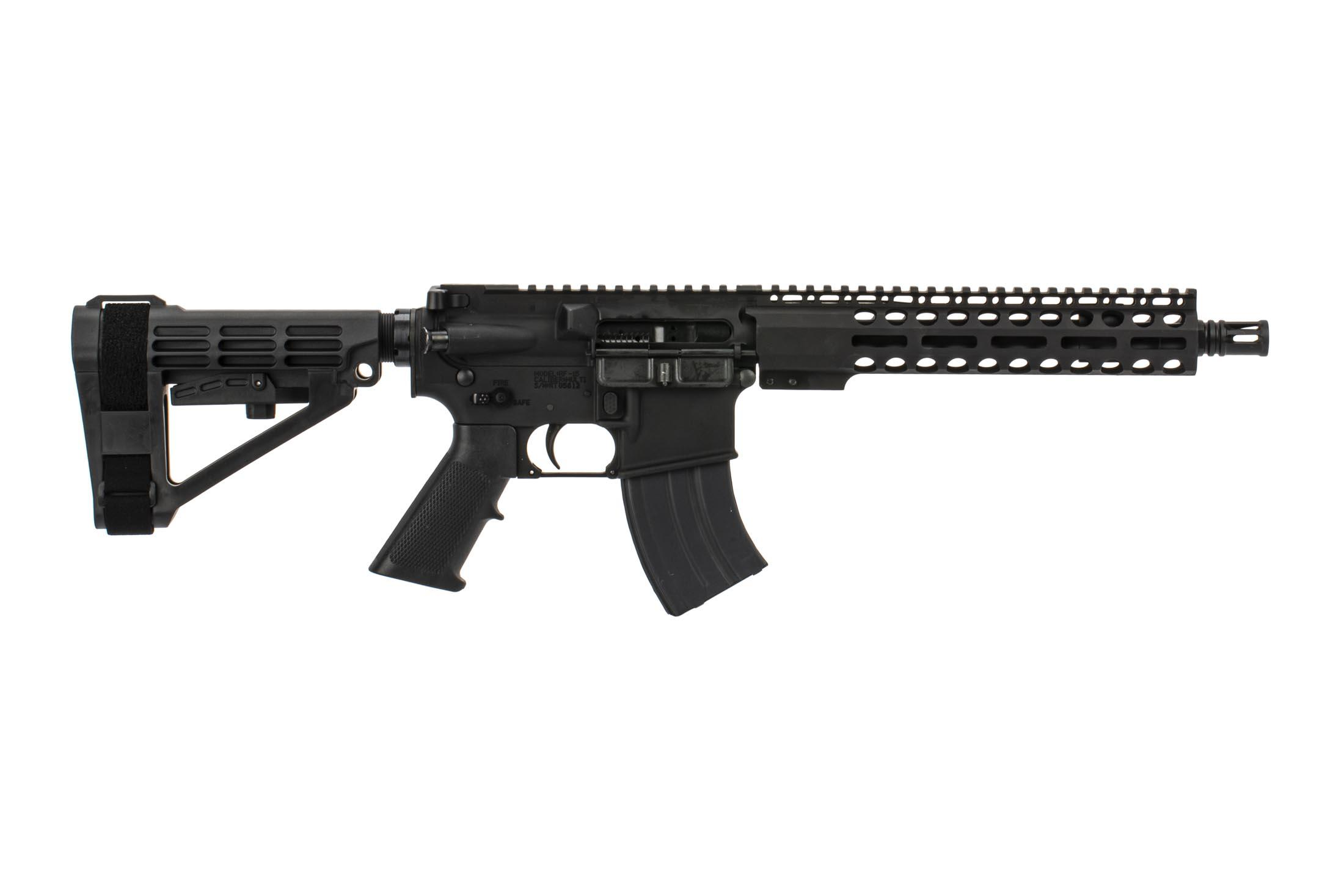The Radical Firearms 7.62x39 Pistol features the Primary Arms Exclusive M-LOK handguard