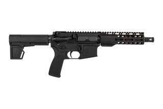"Radical Firearms 7.5"" Primary Arms exclusive 5.56 NATO AR-15 pistol with M4 contour barrel, 7"" M-LOK rail, and Shockwave 2M brace."