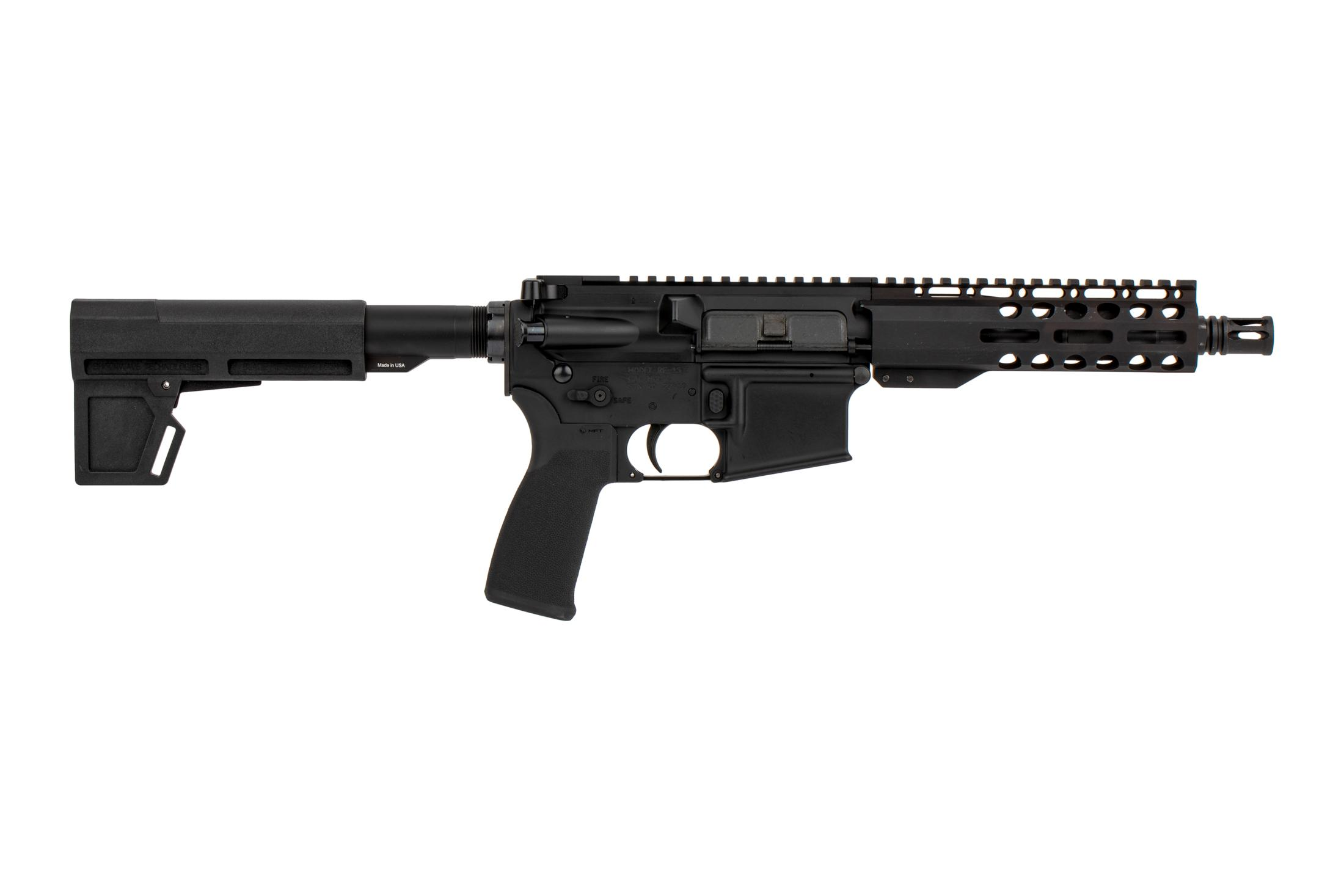 "Radical Firearms 7.5 5.56 NATO 1:7 M4 Pistol - 7"" Primary Arms Exclusive M-LOK Gen3 Rail and Shockwave 2M Blade"