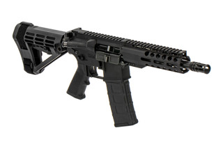 The Radical Firearms 300 BLK AR pistol features an SBA4 arm brace