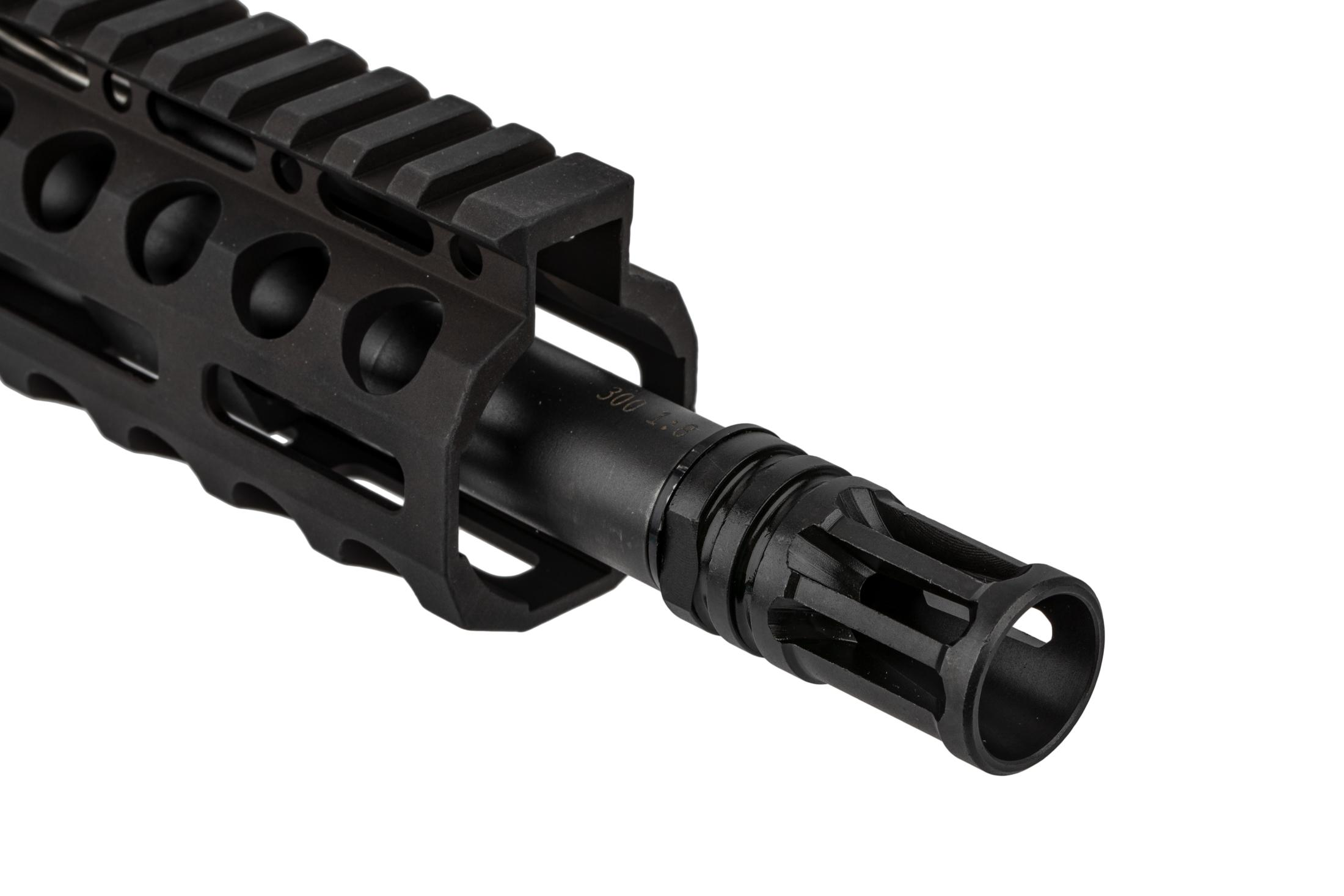 The Radical Firearms 300 Blackout AR15 Pistol with 8.5 inch barrel features an A2 flash hider