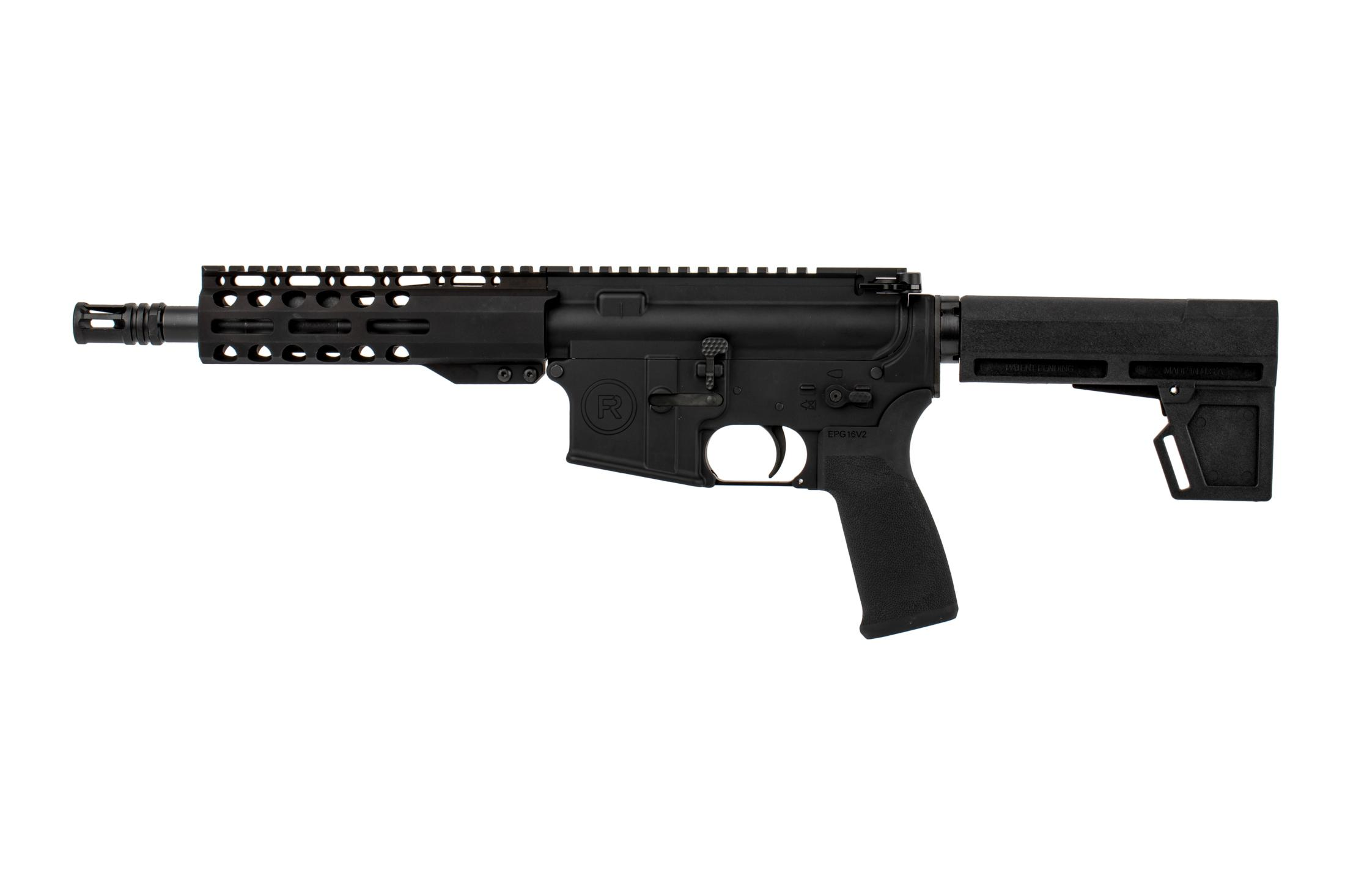 The Radical Firearms 8.5 inch 300 Blackout pistol features a pistol-length gas system