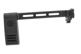SIG Sauer Folding Pivoting Contour Brace Kit for MPX and MCX comes in black