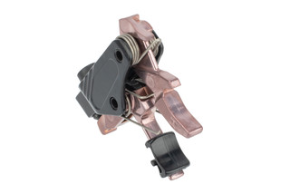 Hiperfire PDT Drop In AR15 Trigger Rose Gold features a single stage design