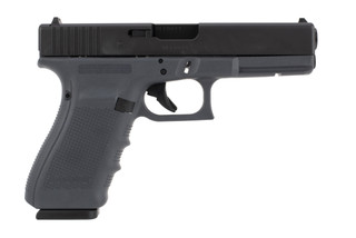 Glock 20 10mm pistol comes with a gray frame