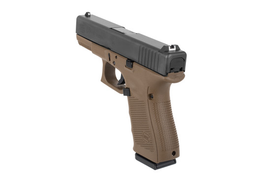 Glock G23 pistol FDE 40 S&W comes with standard sights