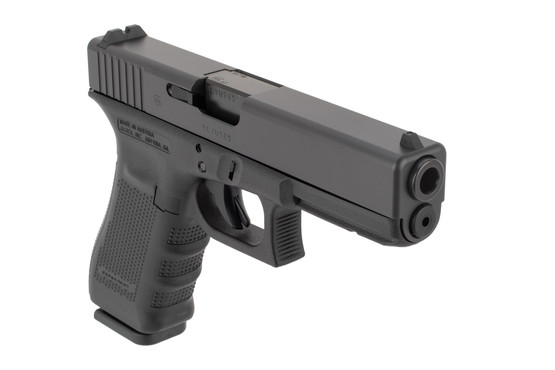 Glock G31 357 SIG pistol features a full size frame