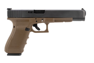 Glock 40 MOS 10mm pistol features a 6 inch barrel