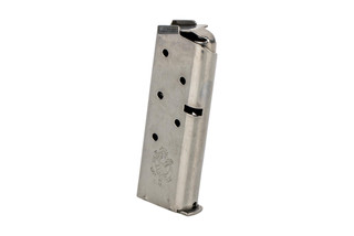 The Springfield Armory 911 6 round magazine .380 ACP features an all steel construction