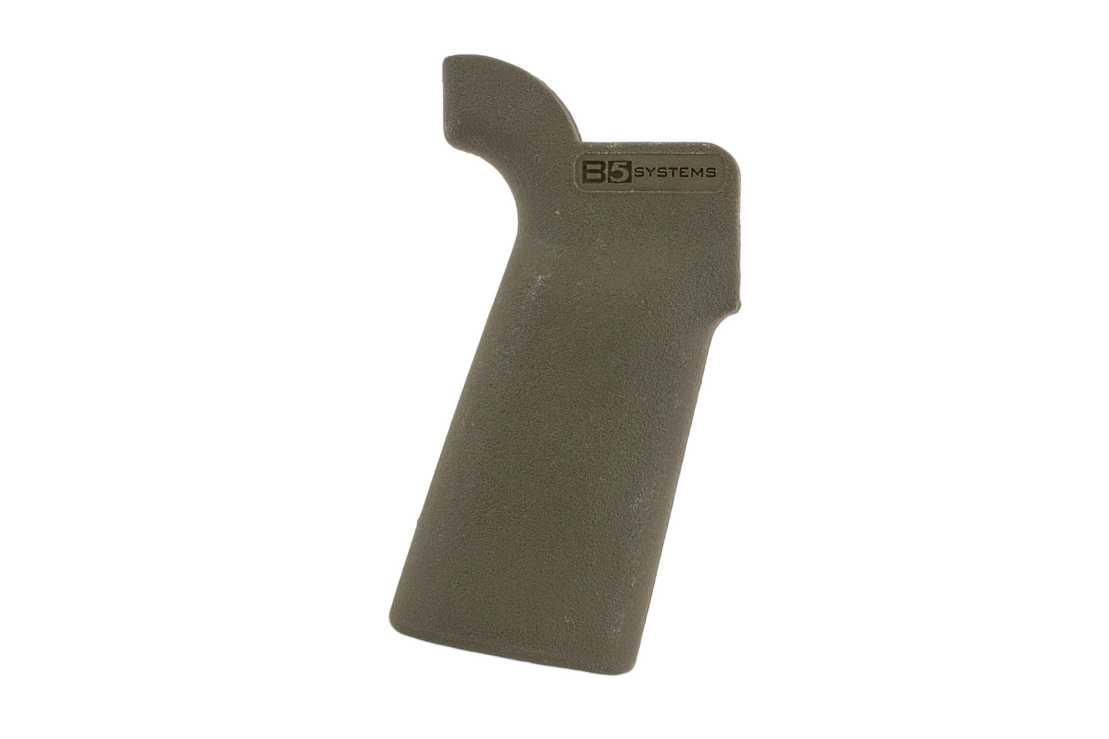 The B5 Systems Type 23 Pistol Grip comes in olive drab green