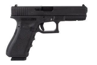 Glock 17 Gen3 9mm pistol features a 17 round magazine capacity