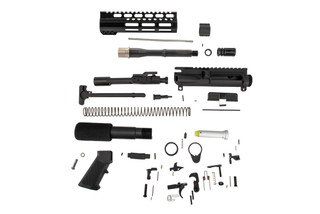 The TacFire 300 BLK AR Pistol Build Kit features a 7.5 inch barrel