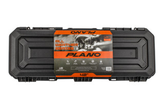 "Plano all-weather 42"" hard case for long guns, shotguns, and rifles features pluck and pull foam lining"